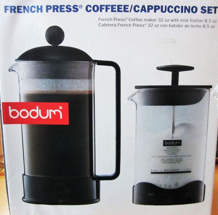 Bodum french press 32 oz coffeecappuccino maker 85 oz