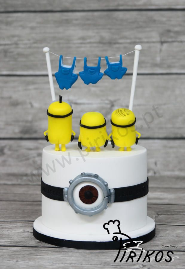 Minions The Movie by Pirikos Cake Design