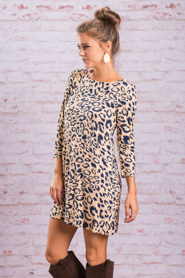 Animal Print - Leopard Tunic - Print Tunic - The Mint Julep Boutique