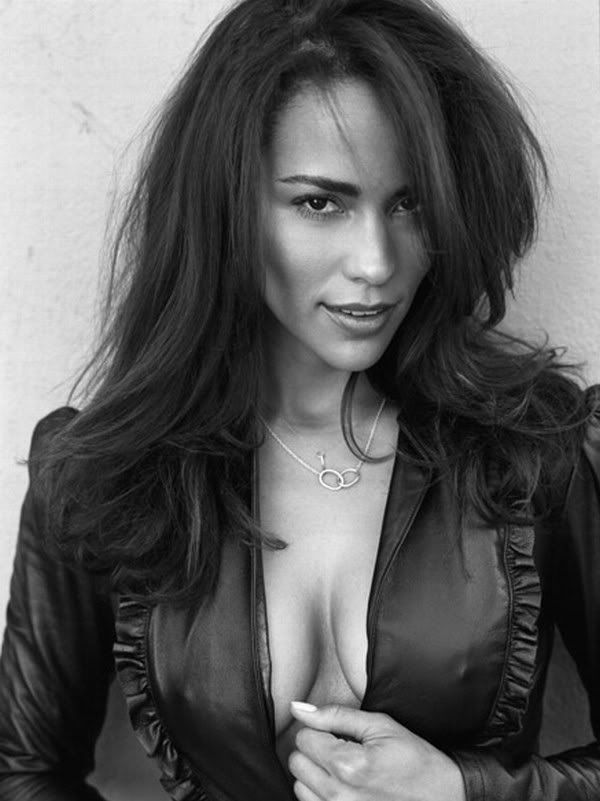 Paula Patton, American actress. She is best known for starring in films such as Just Wright, Jumping the Broom, Precious, Baggage Claim, Déjà Vu, Swing Vote, Mirrors, Idlewild, Warcraft, & Mission: Impossible: Ghost Protocol. She also appeared in her now ex-husband Robin Thicke's music video, Lost Without You, and provided additional vocals for Usher on his album Confessions. She is of African-American & Dutch-German descent, and is a graduate of USC.