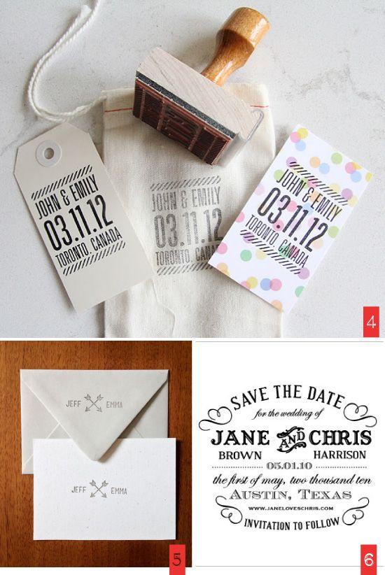 Exceptionnel 77 best Tampon bois mariage images on Pinterest | Shop home  QU85