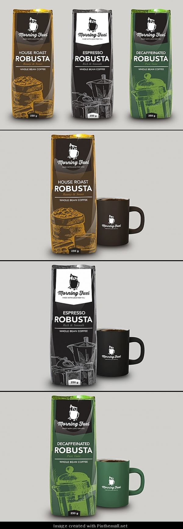 Morning Fuel Coffee (Concept) time for some morning #coffee #packaging PD