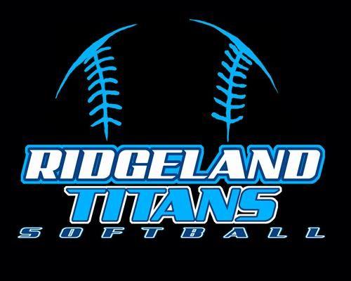 Girls softball league logo