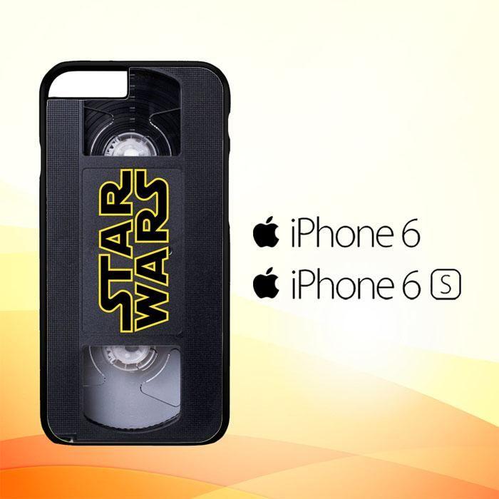 Star Wars VHS Tape Hard X4873 iPhone 6|6S Case