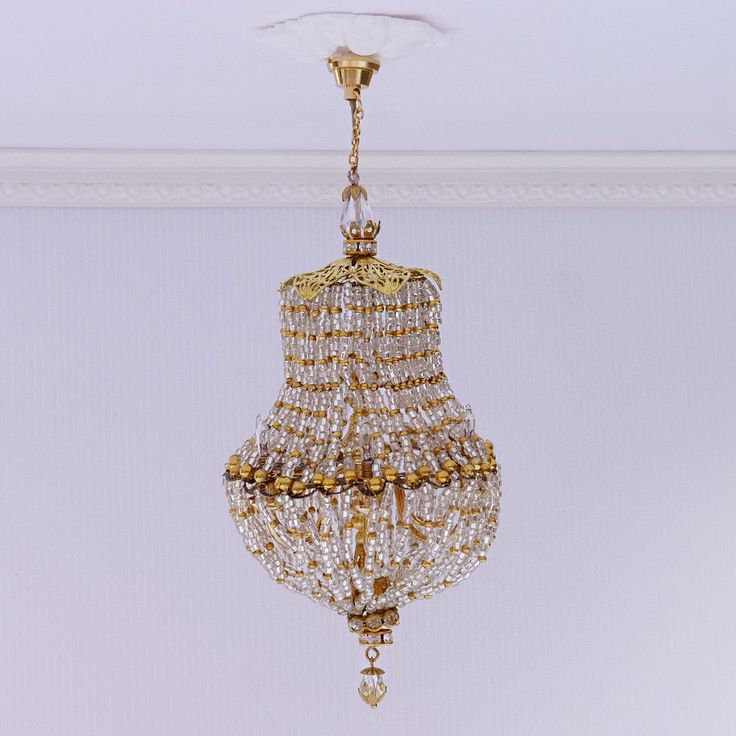 Dollhouse Chandelier Tutorial: 84 Best Dollhouse-Miniatures-Lamp, Chandelier... Images On