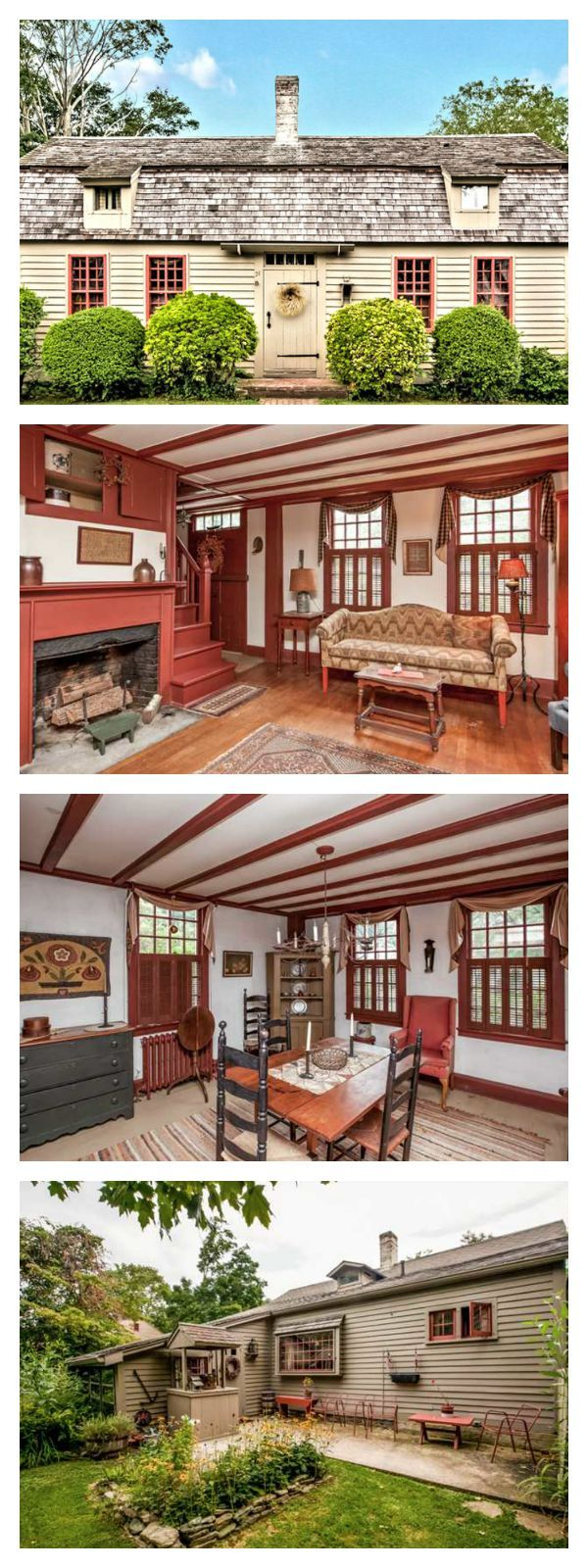 336 best images about shaker interiors on pinterest for Cape cod house characteristics