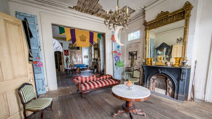 Built in 1855, this townhouse in Treme has a storied history, from its origins as the home of a free woman of color, to its recent history as a filming spot for New Orleans-shot TV shows. Take a look inside this old, lovingly pieced together home.