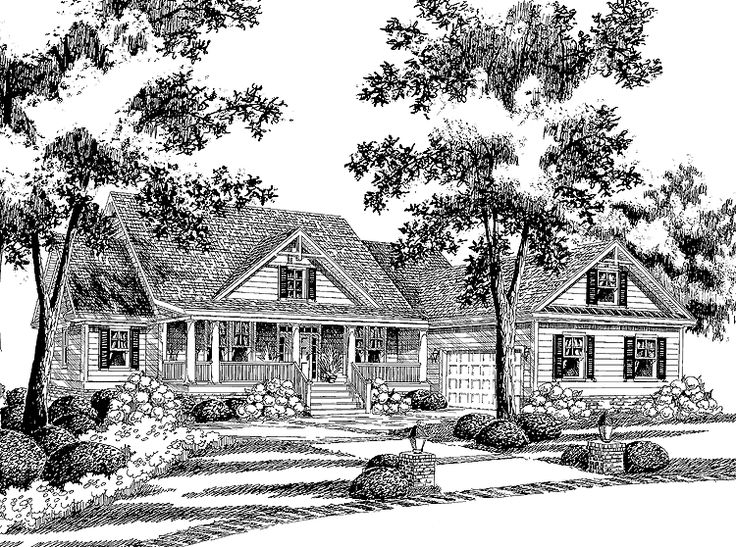 ... | Traditional House Plans, Country House Plans and House plans