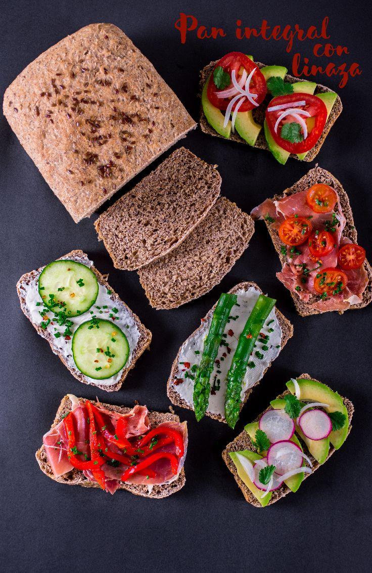 Si quieres un pan que te aporte una gran cantidad de fibra, esta receta es ideal para ti.