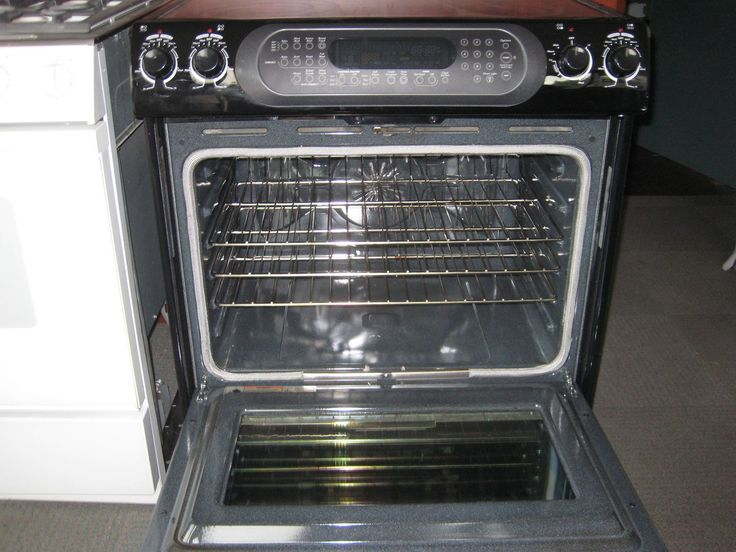Kitchenaid black 30 inch slide in smooth top electric