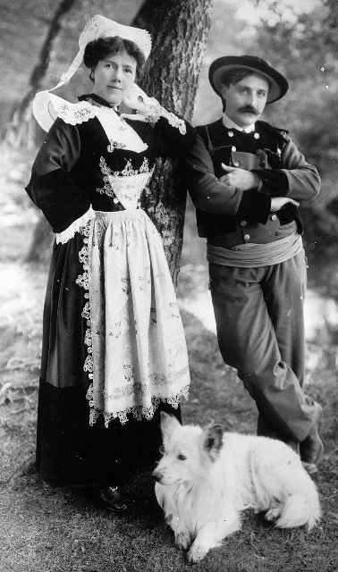 Traditional Breton costume.