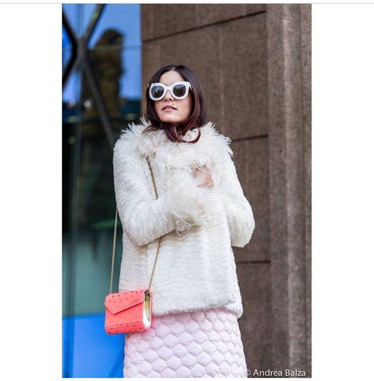 Eleonora Carisi wearing G2G eco fur. Photo by Andrea Balza Photographer #g2gdream  www.g2gdream.com