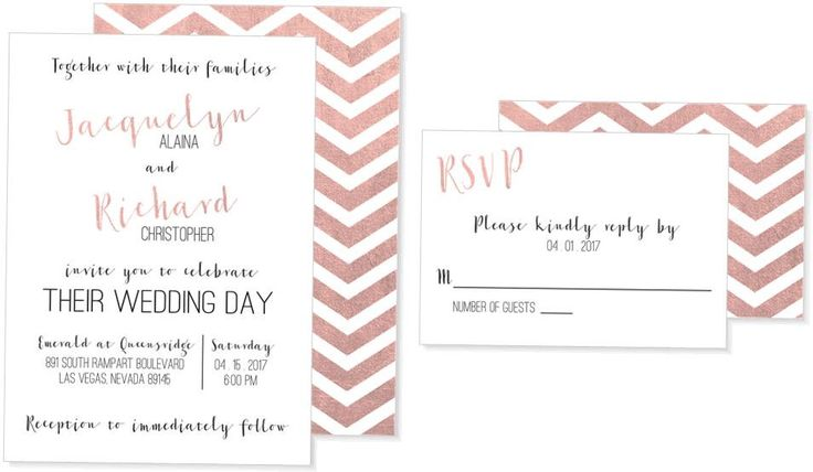 Simplicity Chevron Wedding Invitation by BlueOrchidDesignsLV on Etsy https://www.etsy.com/listing/477344460/simplicity-chevron-wedding-invitation  Pearlized | Wedding | Inspiration | Planning | Custom | Design