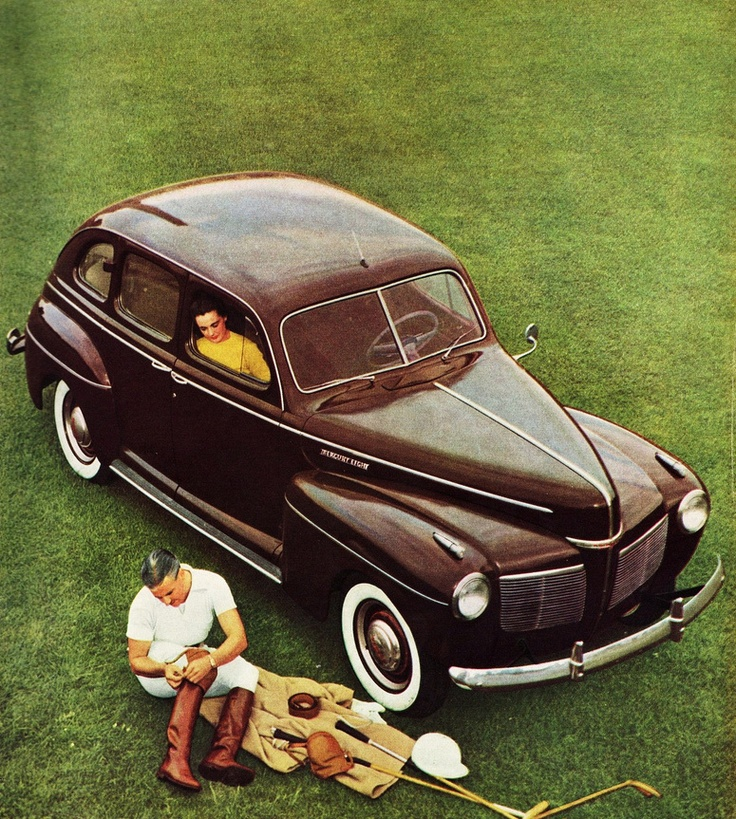 116 best Mercury: 1930 - 1948 images on Pinterest   Vintage cars ...