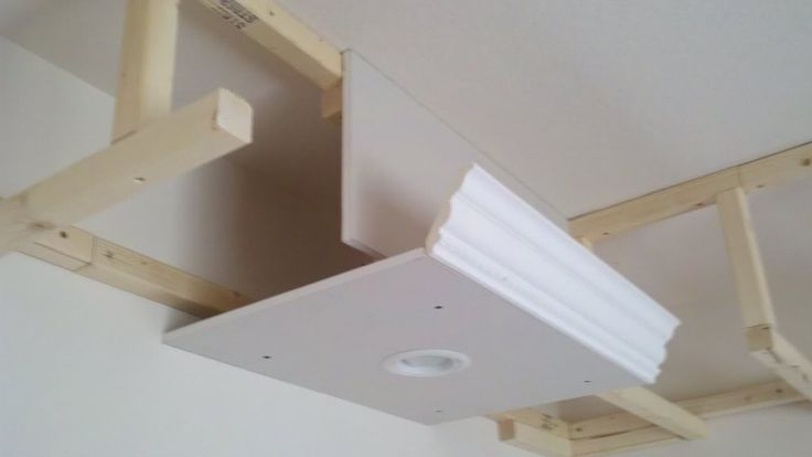 Sofit construction. Good idea