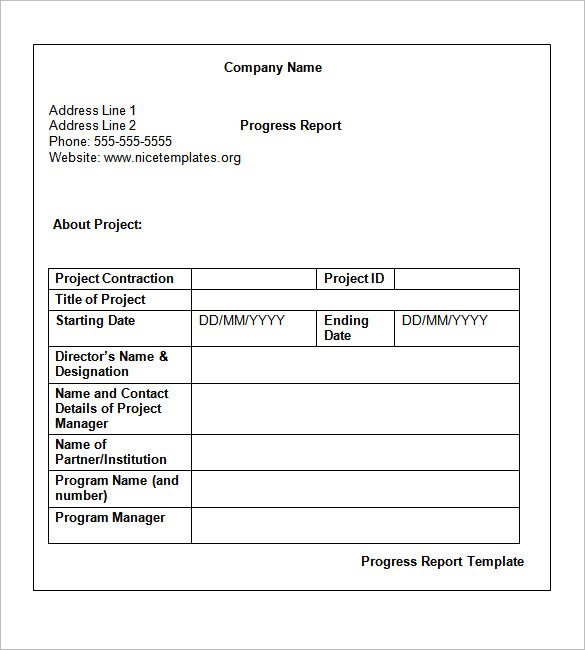 Weekly Status Report Template 14 Free Word Documents Download Xthlbnxn Progress Report Template Project Status Report Free Word Document