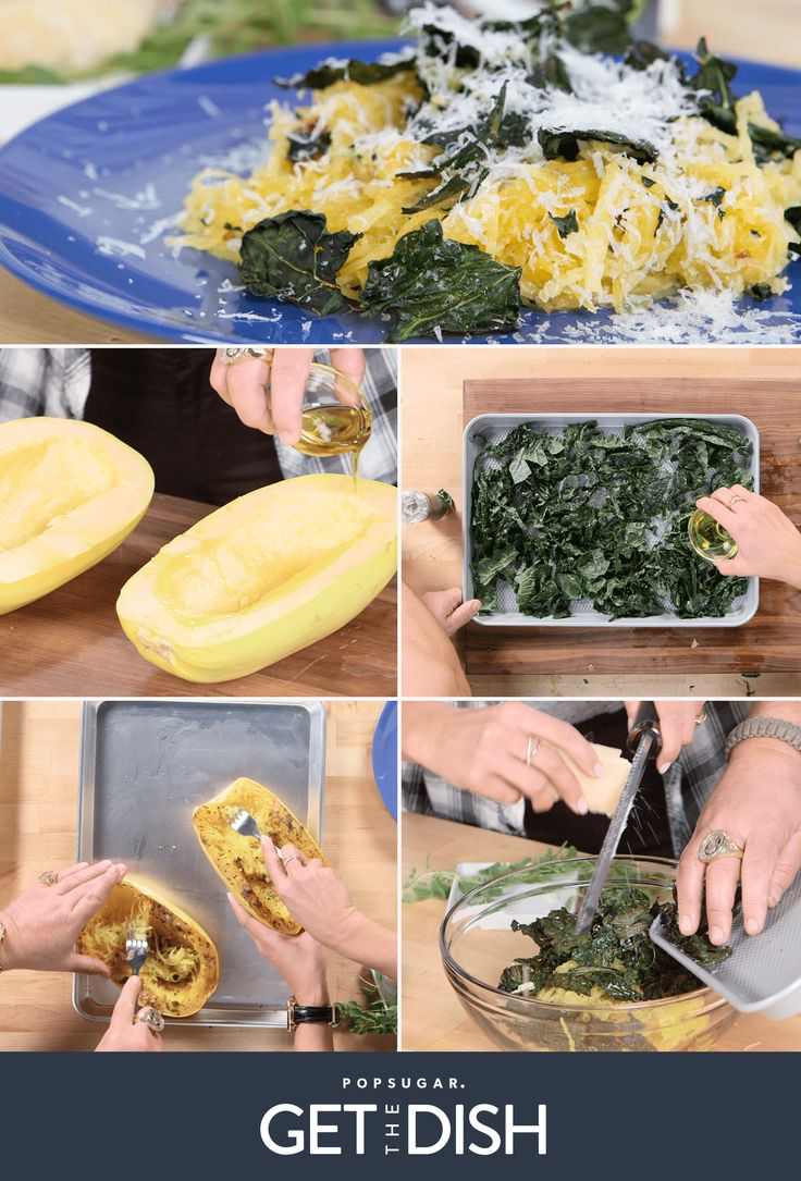 This Roasted Spaghetti Squash, Kale, and Parmesan Salad From Guy Fieri Is Insanely Delicious!