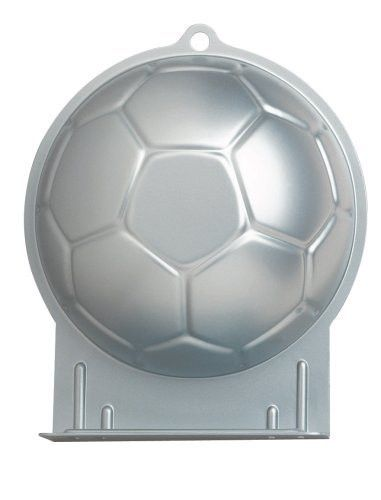 Soccer Ball Cake Tin Hire | Soccer Party Theme and Supplies available at www.buildabirthday.co.nz