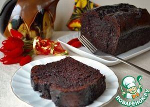Мексиканский шоколадный кекс