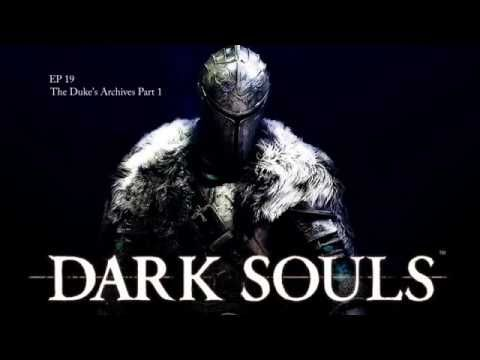 Dark Souls Ep 19 - The Duke's Archives Part 1 I don't know why you can't find a bathroom in this place Sam, strange isn't it?  Maybe it's part of the undead curse and you can no longer poop, it's all taken care of at the bonfire.   Join Sam and myself in the search for a bathroom in the the Duke's Archives.  Big place, has to be one somewhere.  Thanks for watching everyone, take care.