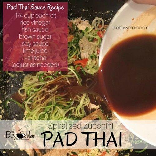 Pad Thai Sauce Recipe