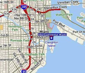 Mapa de Miami | Para Viajar, para unas vacaciones inolvidables