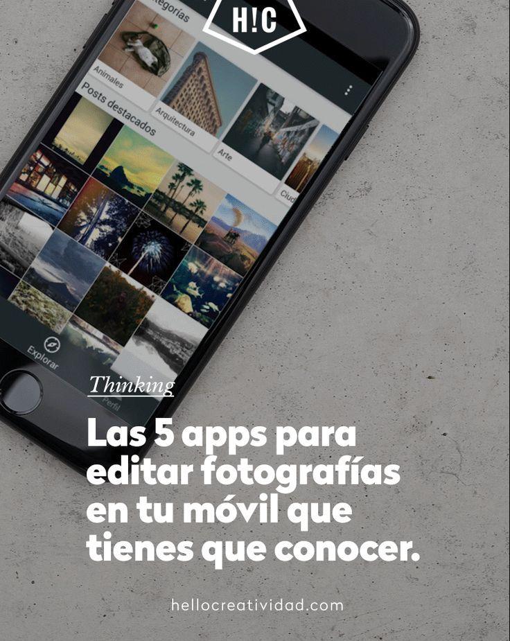Apps Para Editar Fotos En Tu Móvil Hello Creatividad Apps Fotografia Editar Fotos Aplicaciones De Fotografia