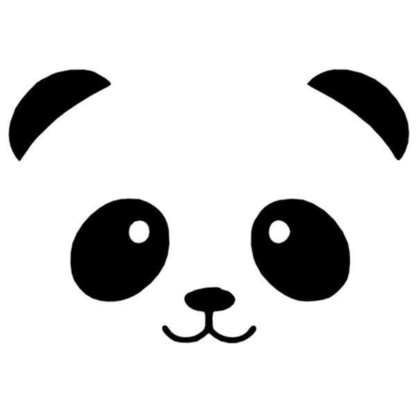 Panda blackandwhite Koffertje Met Naam En Tekening Pastel Roze 35
