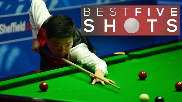 World Snooker Championship: Judd Trump crashes out to Ding Junhui - BBC Sport