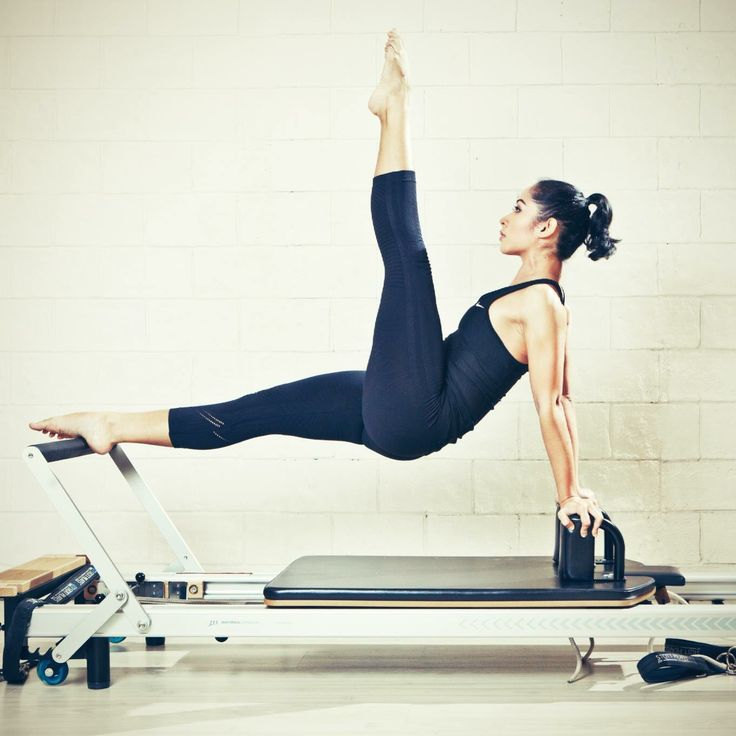 """Leg Pull Front"" on the Reformer"