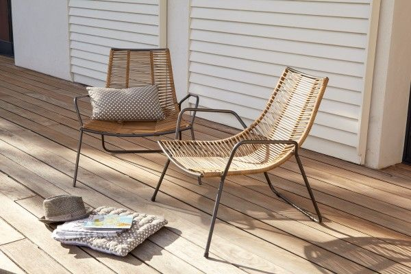 Un fauteuil bas pour ma terrasse et pour mon salon salons - Rocking chair alinea ...