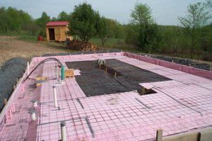 Green Tip Insulated Slab Foundations Log Homes