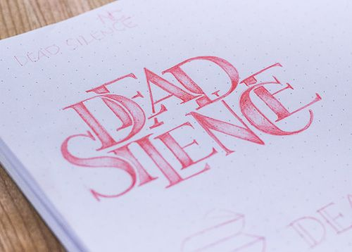 Lettering by Sarah Sugarman