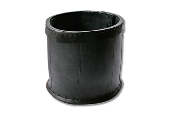 Basket large - Rubbish- recycled rubber