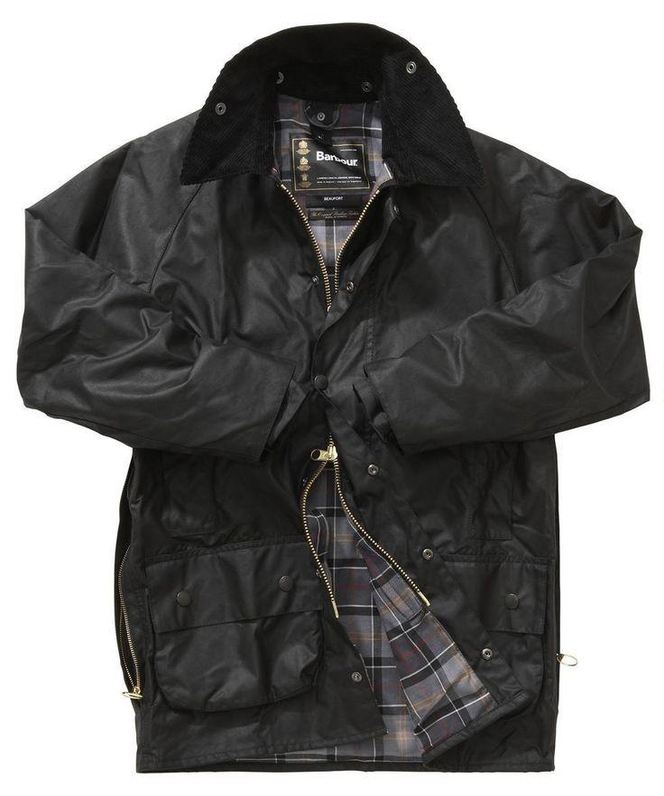 Barbour Beaufort Jacket -Black | Modern Tartan