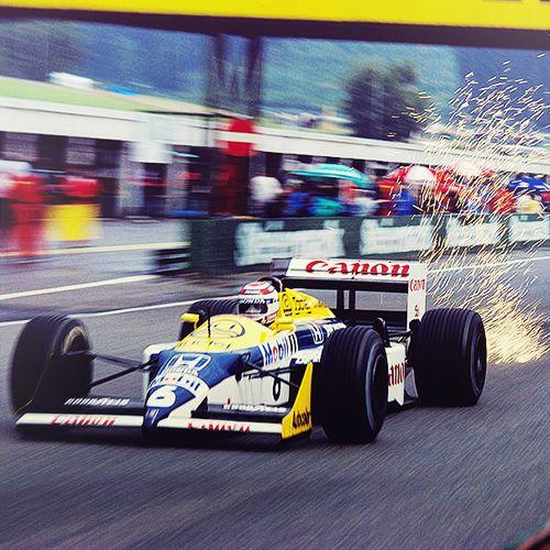 Nelson Piquet - Williams - Austria 1987
