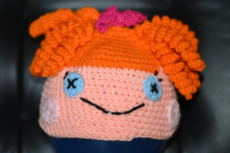 Orange Haired Lalaloopsy Character Hat Size 3 to 7 Years. $15.00, via Etsy.