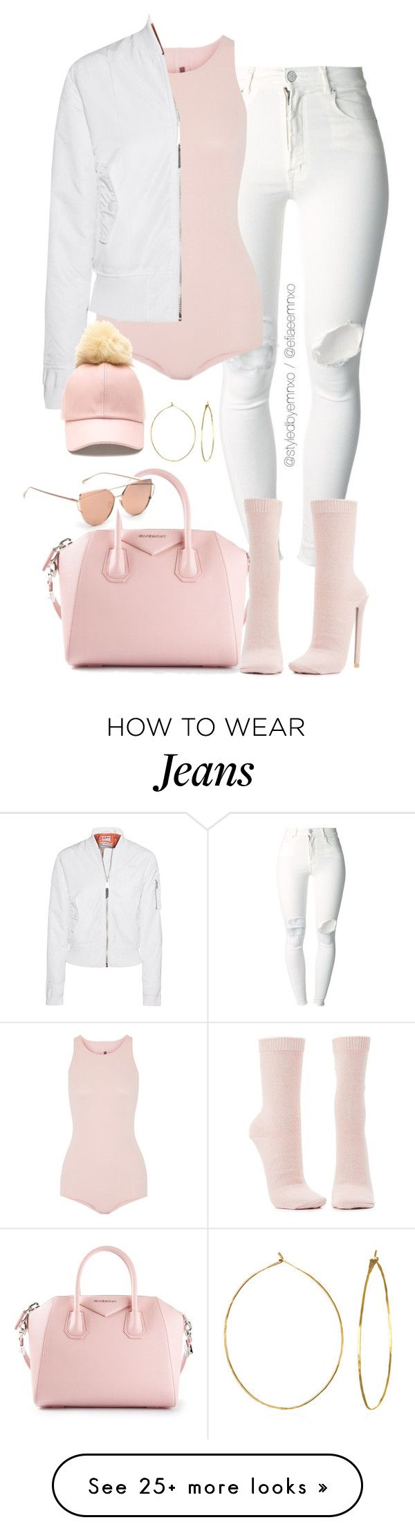 """Yeezy D.I.Y"" by efiaeemnxo on Polyvore featuring (+) PEOPLE, Givenchy, Rick Owens, Schott NYC, Charlotte Russe, Phyllis + Rosie, DIY, sbemnxo and styledbyemnxo"
