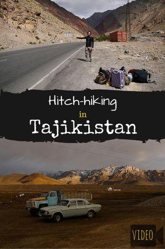 Hitchhiking in Tajikistan VIDEO compilation