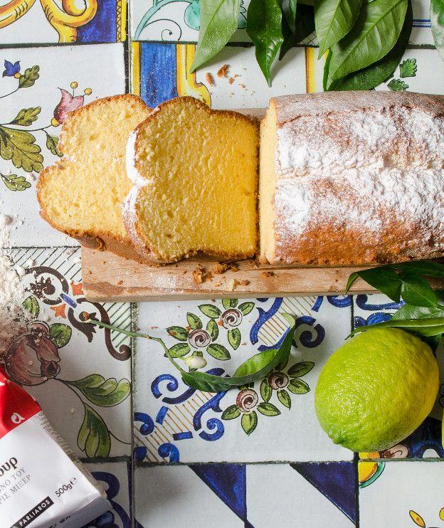 Το νέο αλεύρι Κέικ Φλάουρ της ΑΛΛΑΤΙΝΗ αναμειγνύεται με βούτυρο, χυμό εσπεριδοειδών και κρέμα γάλακτος σε ένα γλυκό που λιώνει στο στόμα.