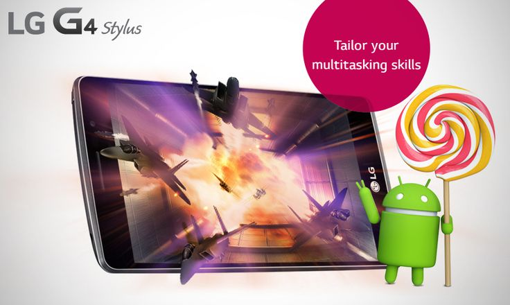 Enhance your multitasking power with an advanced processor and latest android operating system in #LG G4 Stylus.