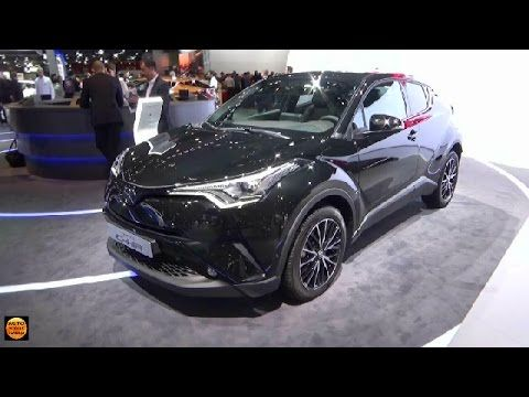 ► Toyota C-HR Concept - (two) - Design Exterior and Interior 2017 - YouTube