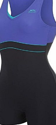 Slazenger Boyleg Swimsuit Womens Purple Ladies Swimming Costume Navy Teal (10) This ladies Slazenger swimsuit offers a practical, stylish and comfortable design, with a racer back shape which allows for great freedom of movement and finished with a (Barcode EAN = 5696904004463) http://www.comparestoreprices.co.uk//slazenger-boyleg-swimsuit-womens-purple-ladies-swimming-costume-navy-teal-10-.asp