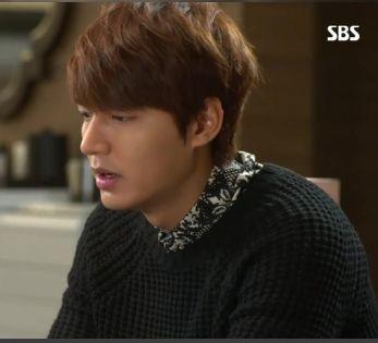 ep6 Lee Min Ho as Kim Tan : chris-christ knit [The Heirs]