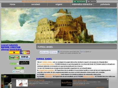 http://www.turnul-babel.com/  Site-ul este un amalgam de pagini distractive