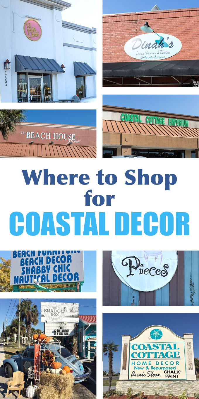 Coastal Decor Best Places To Shop For Decorating Items Furniture