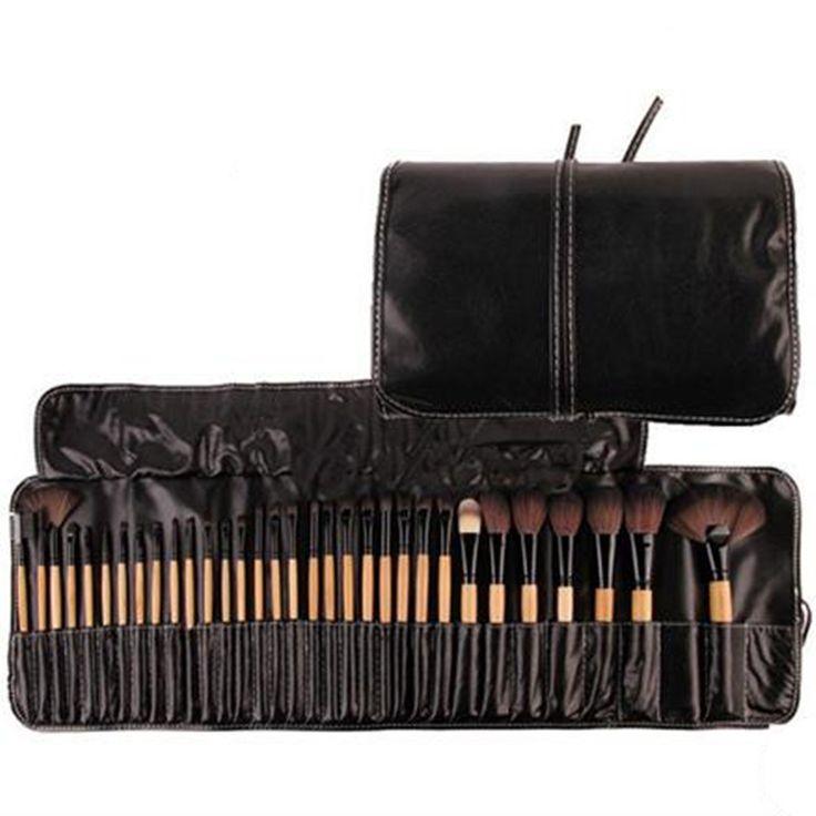 32Pcs Makeup Brush Set W/Travel Pouch