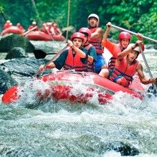 Rafting in Ayung river