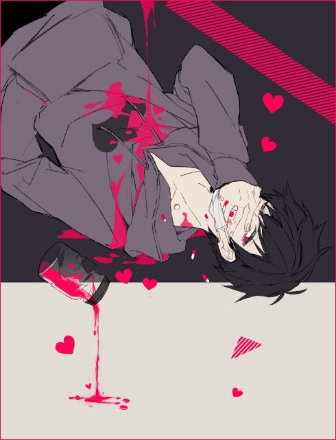 Osomatsu-san- Ichimatsu #Anime「♡」Dark Guro