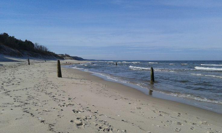 Seashore in April